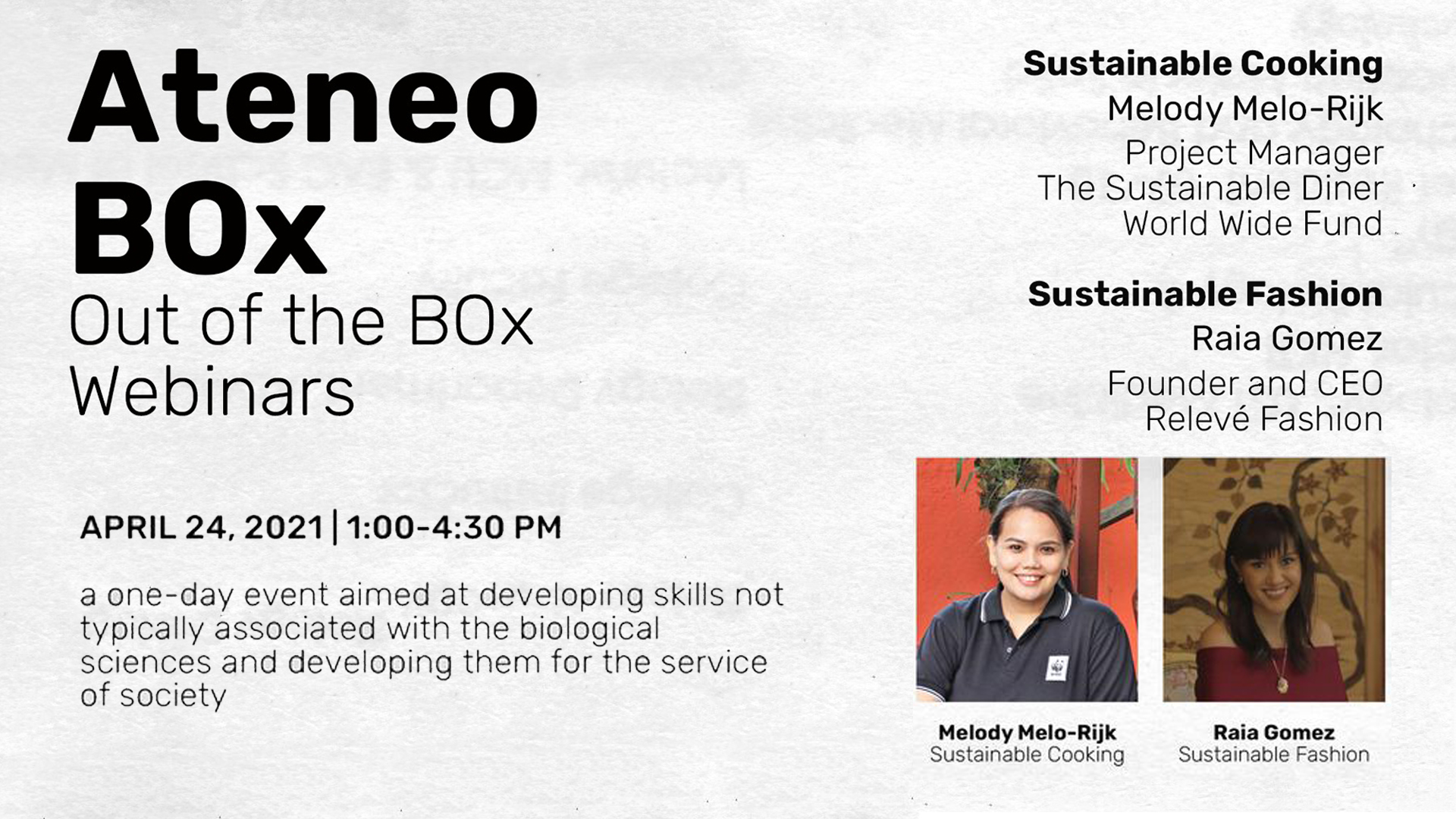 BOx discusses sustainability, promotes local initiatives in first OOTB webinar