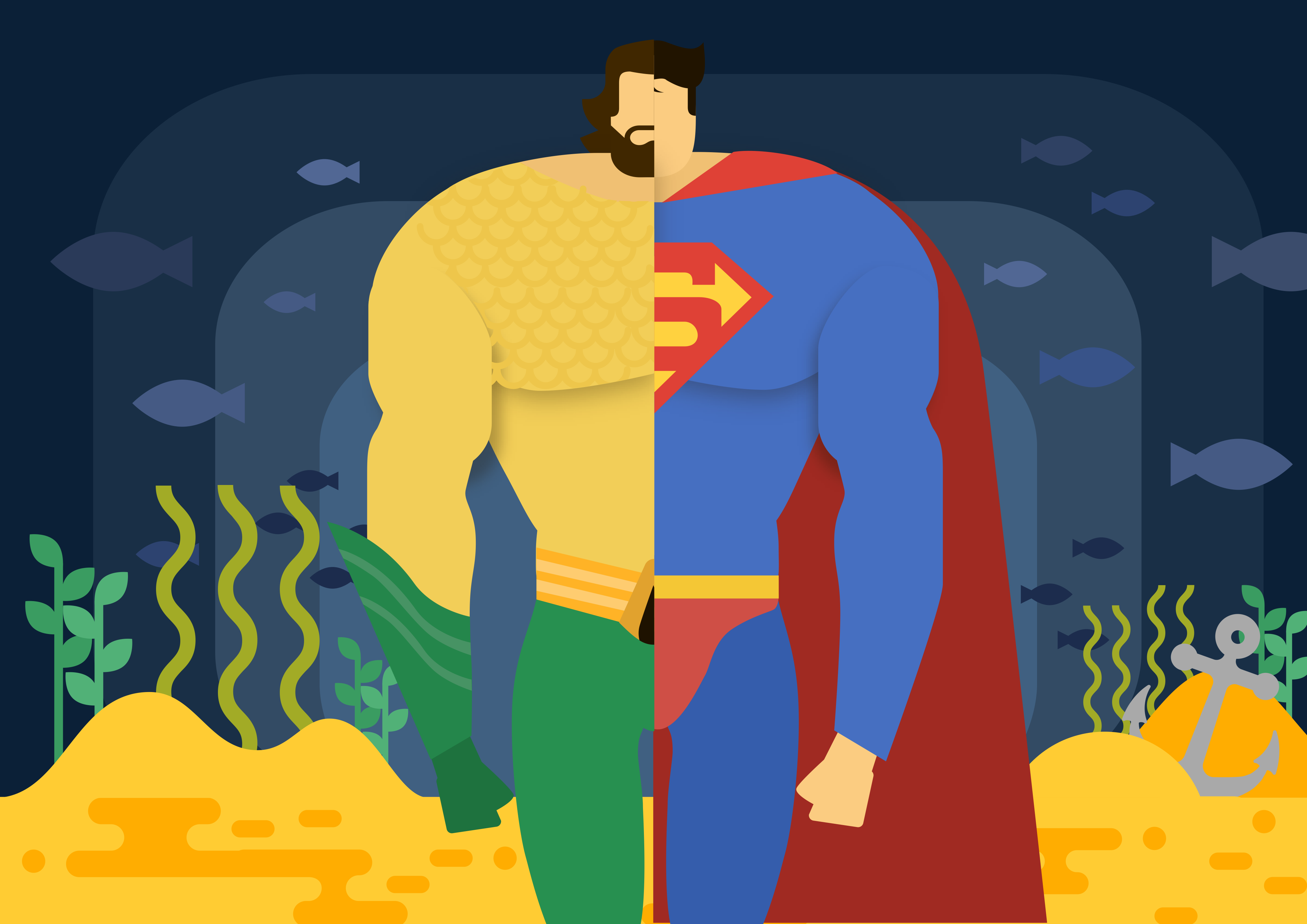 When wastes turns to food: Spirulina as your Superman and Aquaman